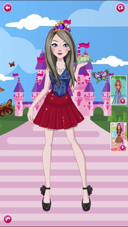 Anna Prom Night Salon: Girls Makeup, Dressup Games screenshot-3