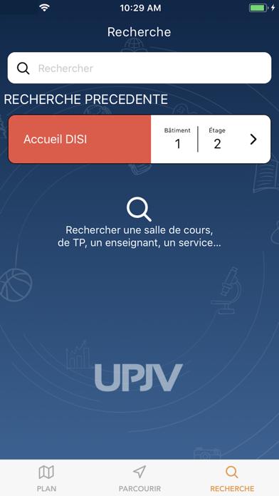 UPJV Géolocalisation Citadelle screenshot four