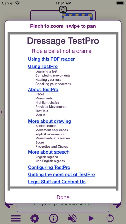 TestPro: FEI Dressage Sampler screenshot-7