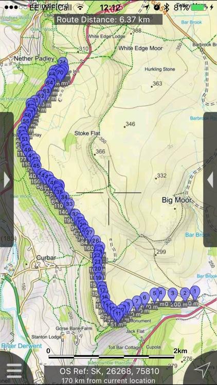 Peak District Maps Offline screenshot-0