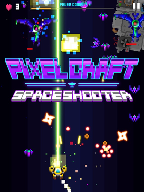 Pixel Craft - Space Shooter на iPad