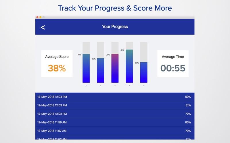 PCAT Practice Exam 2018 скриншот программы 5