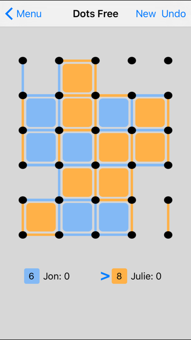 Dots + Boxes screenshot one