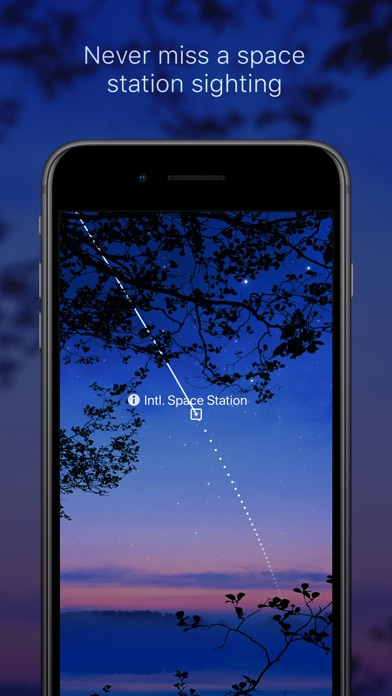 Sky Guide Screenshot on iOS