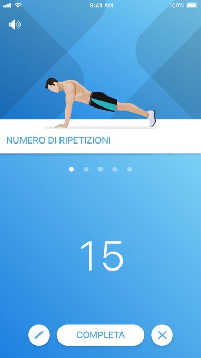 Screenshot for Just 6 Weeks PRO in Italy App Store