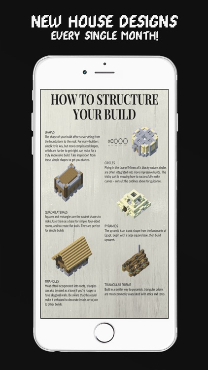 MCPE House Building Magazine