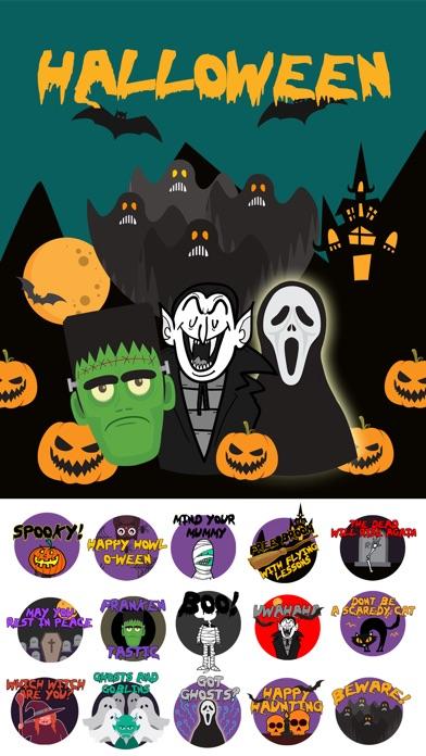 Scary HalloweenMoji Stickers screenshot 1