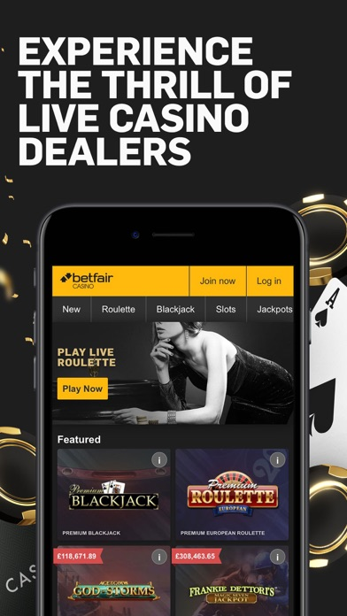 Betfair Casino & Roulette screenshot three