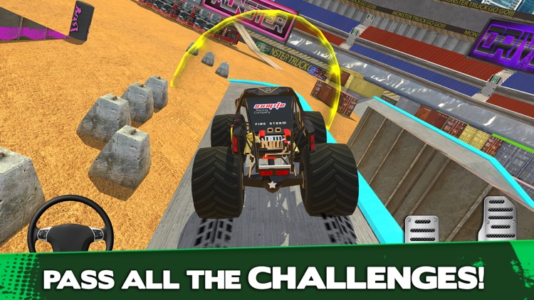 Monster Truck Driver Simulator screenshot-3
