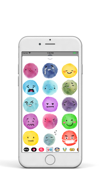 Watercolor EMoji Pack screenshot three