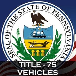 PA Vehicle Title 75 Codes