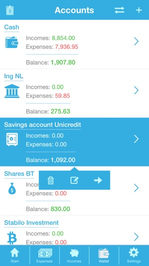 Money - Financial Planning Screenshot