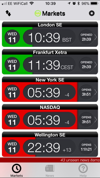 Trader Clock screenshot-0