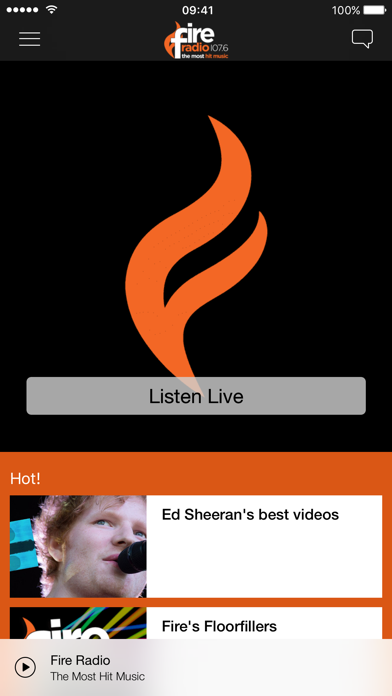 Fire Radio screenshot one