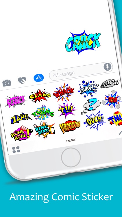 Comic Emoji Stickers Pack