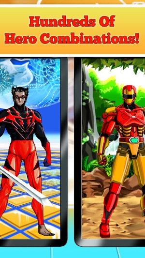 Create Your Own Superhero Free on the App Store & Create Your Own Superhero Free on the App Store