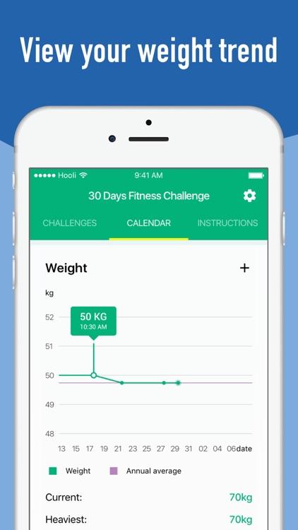 30 Day Fitness Challenge Pro screenshot-4