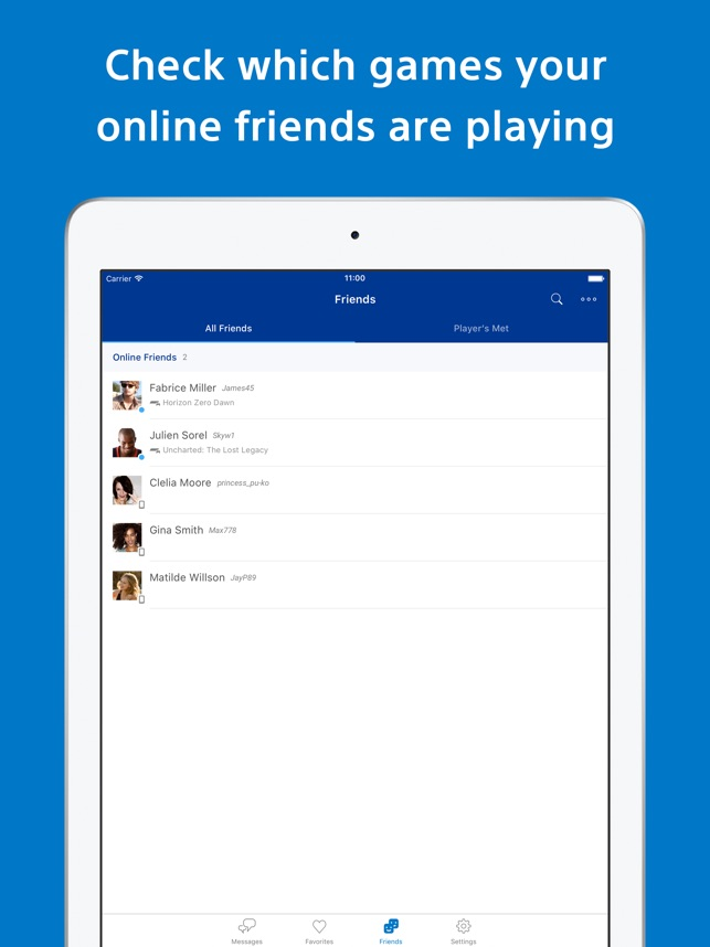PlayStation Messages on the App Store