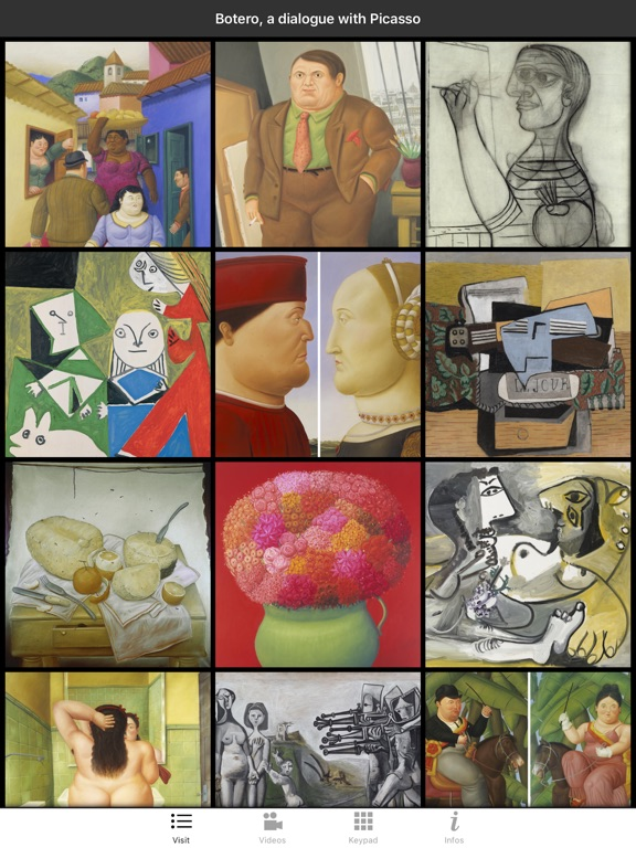 Botero:a dialogue with Picasso screenshot 6