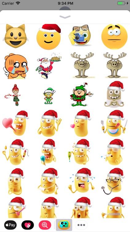 Cmoji  Christmas Sticker Pack screenshot-4