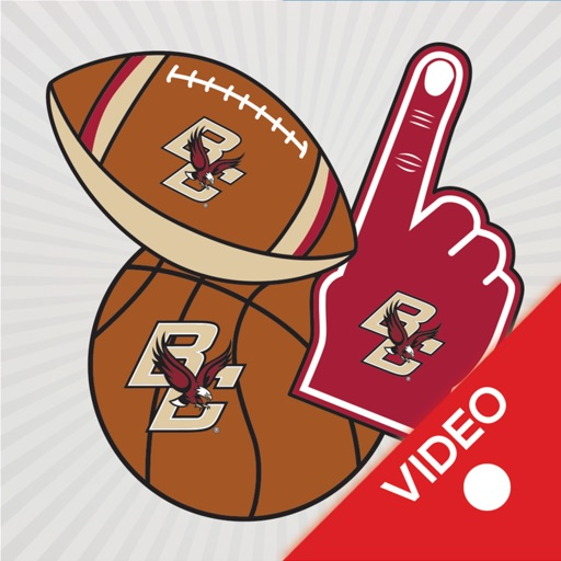 Boston College Eagles Animated Selfie Stickers