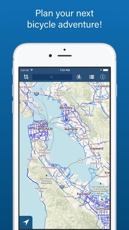 Bike Maps — Bicycle Routes & Trails screenshot-4