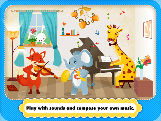 Abby Musical Puzzle: Kids Animal Piano Toy for Toddler Loves Music screenshot