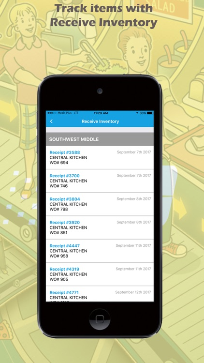 Meals Plus Mobile Inventory by Education Management Systems