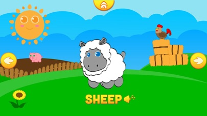 Funny Animals: Kids ABC Game screenshot one