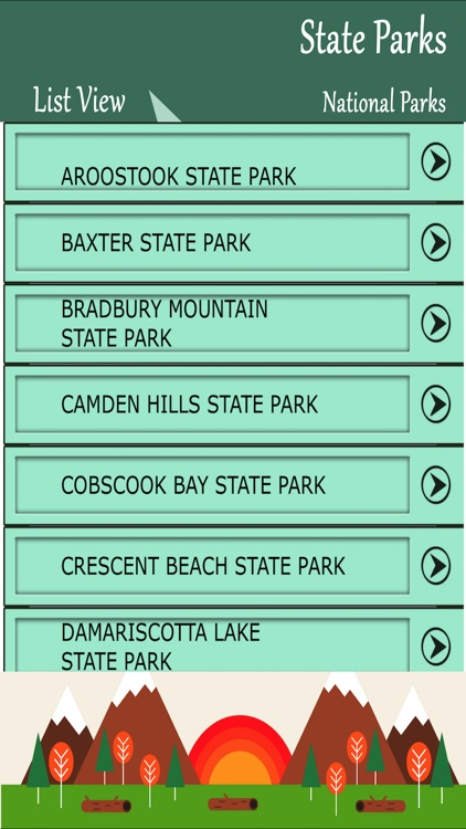 State Parks In Maine screenshot-1