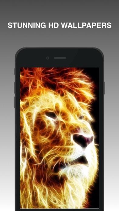 Neon Animal Wallpapers screenshot one