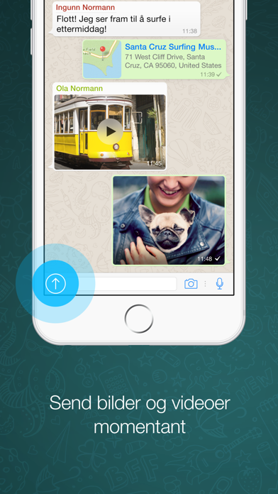 Screenshot for WhatsApp Messenger in Norway App Store