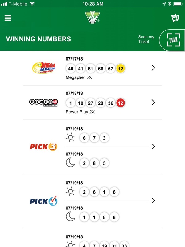 Virginia Lottery Official App - Online Game Hack and Cheat
