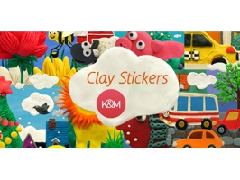 Clay Stickers