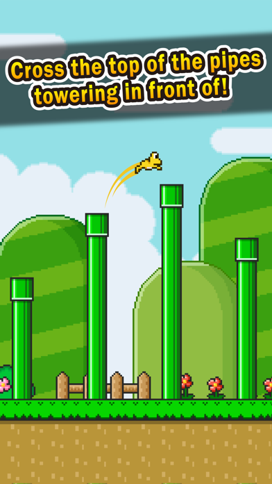 Jumping Frog - pipes adventure - screenshot two