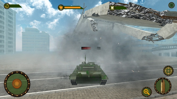 Epic Tank War Machines Blitz screenshot-3