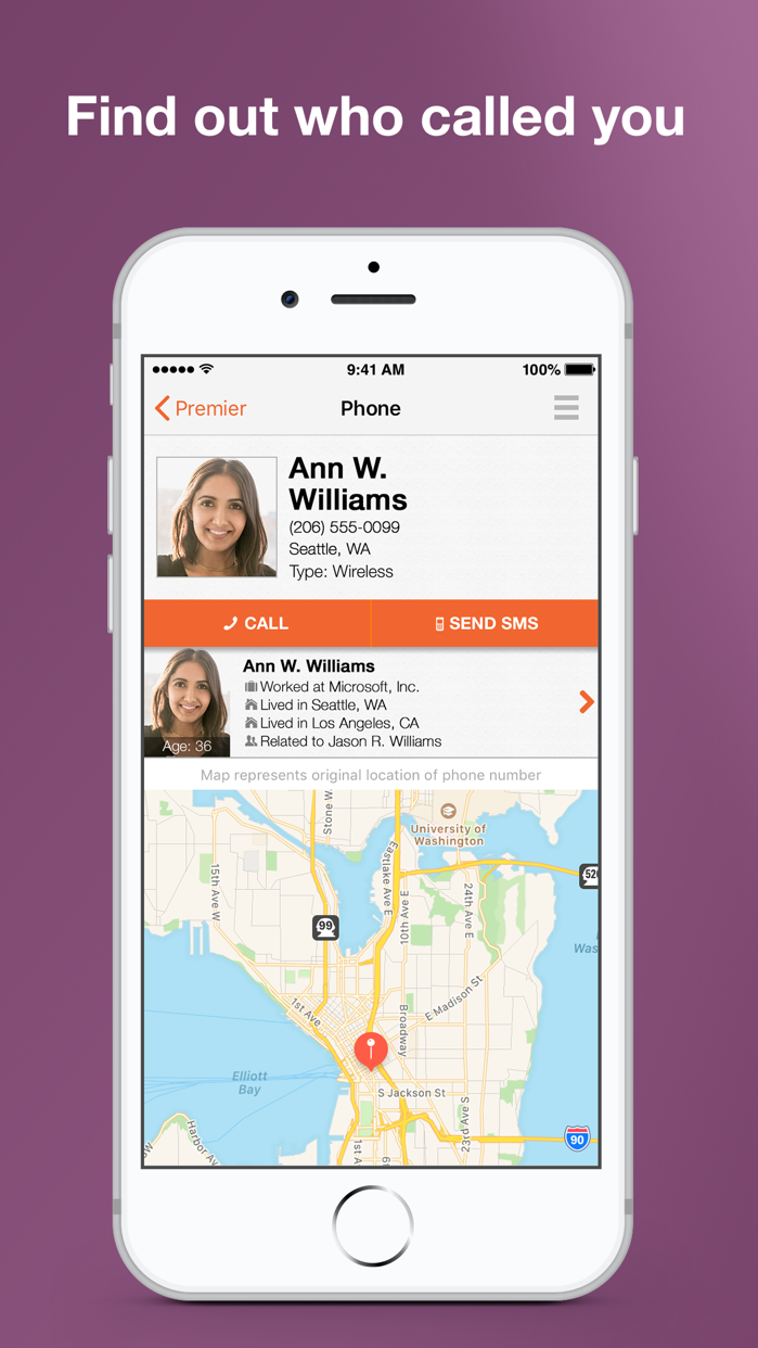 Reverse Phone Lookup Intelius Screenshot