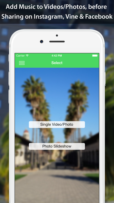 VideoSound - Music to Video Screenshots