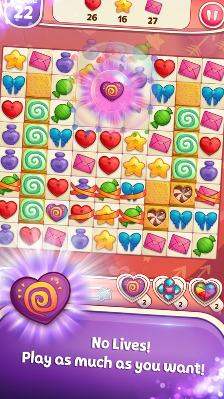 Sweet Hearts Match 3 Online Hack Tool