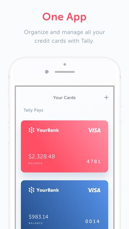 Tally: Credit Card Debt Payoff screenshot-3