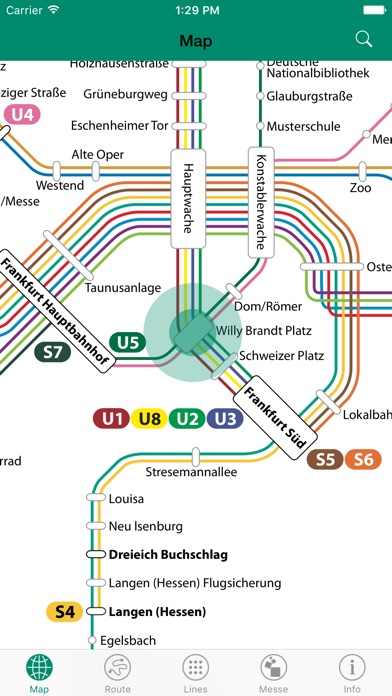 Frankfurt S Bahn U Bahn review screenshots