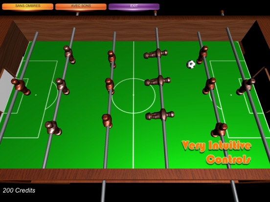 Table Soccer Foosball 3D screenshot 7