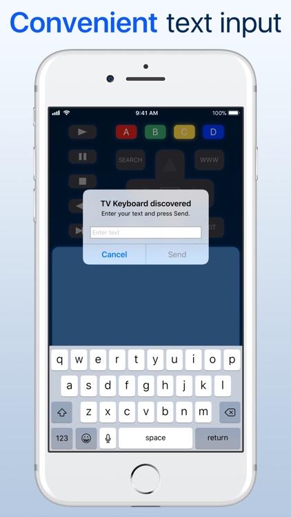 myTifi remote for Samsung TV