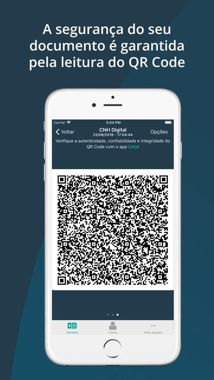Carteira Digital de Trânsito screenshot-3