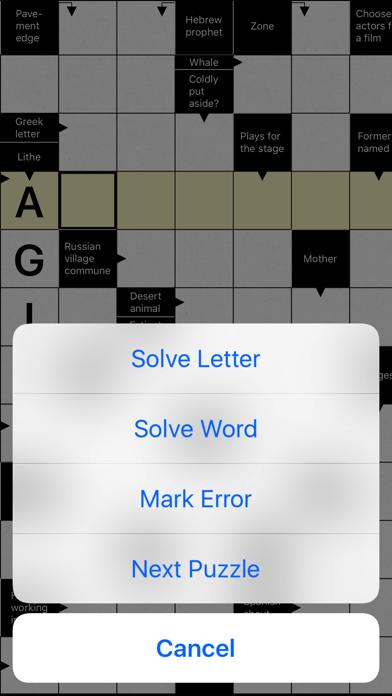 Crossword Puzzle . screenshot 5