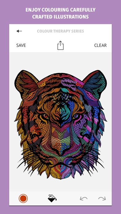 Colour Therapy: An Adult Colouring Book