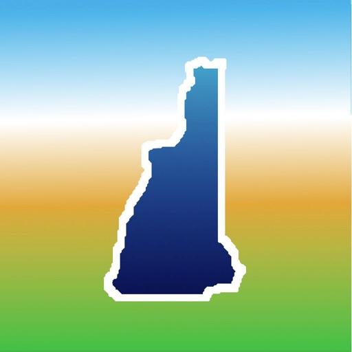 Aqua Map New Hampshire Lakes