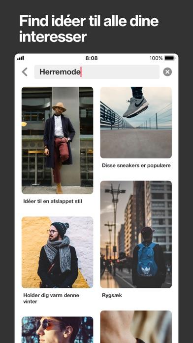 Screenshot for Pinterest in Denmark App Store