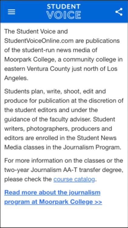 Moorpark Student Voice