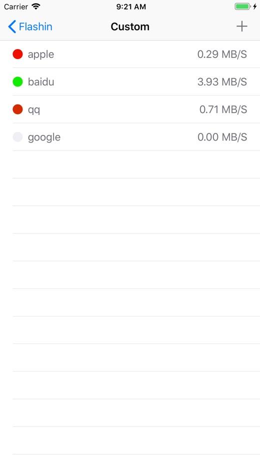 Flashin-首选科学网速加速器 App 截图